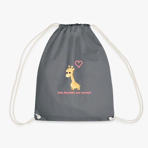 Giraffe Me Crazy - Sportstaske