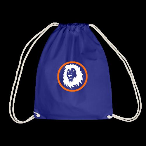 Absogames white lion unisex hoodie - Drawstring Bag