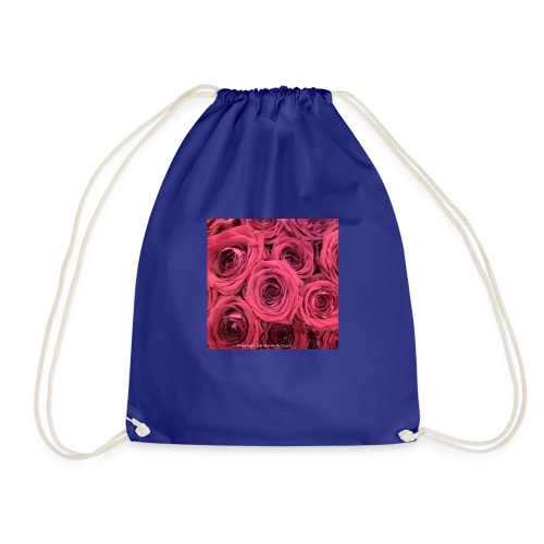 Red roses - Drawstring Bag
