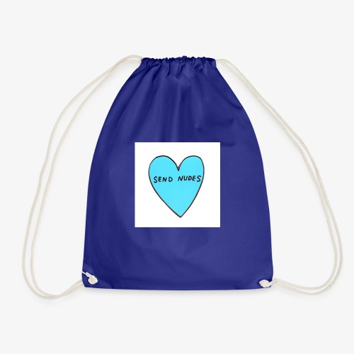 send nudes - Drawstring Bag