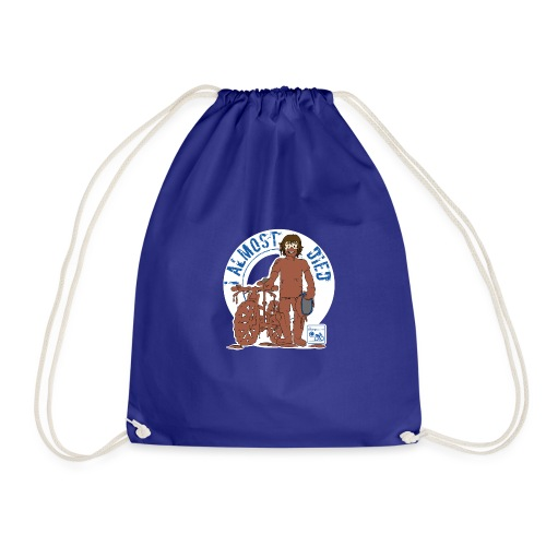 I almost died - Drawstring Bag