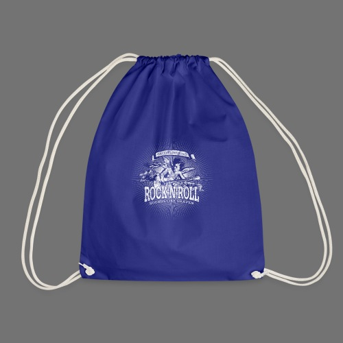 Rock 'n' Roll - Sounds Like Heaven (white) - Drawstring Bag