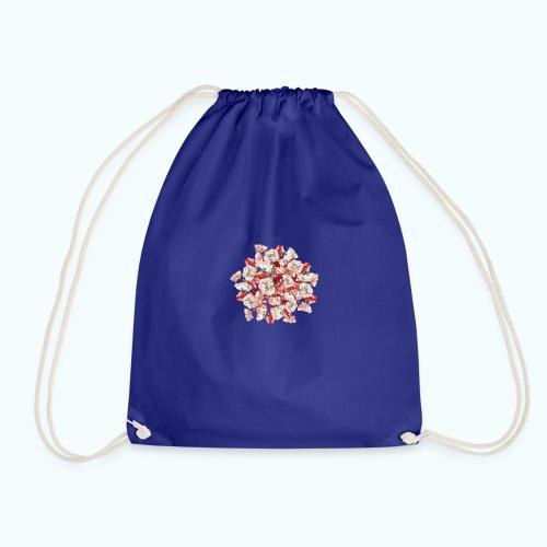 Hippie Aquarell Blumen - Drawstring Bag