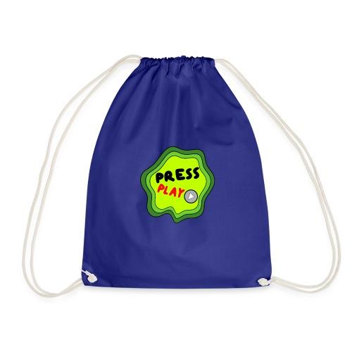 Press Play slime - Drawstring Bag