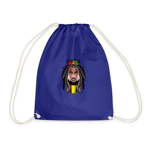 I Finton - Geo - Drawstring Bag