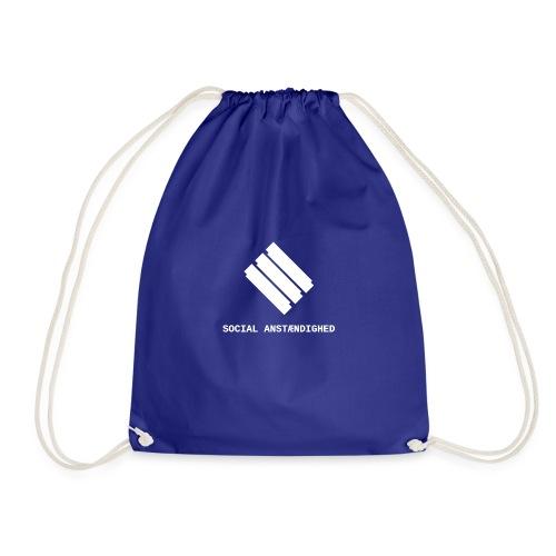 logo transparent hvid - Sportstaske