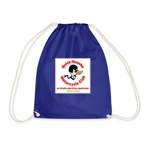 Quack logo 25 years - Drawstring Bag