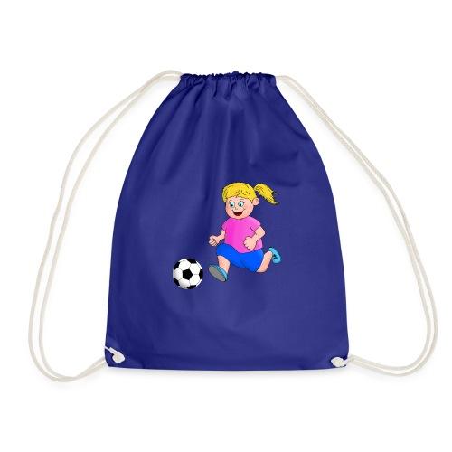 Fußball Mädchen - Turnbeutel