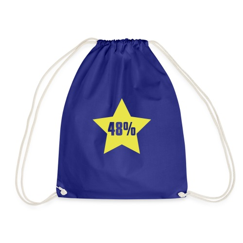48% in Star - Drawstring Bag