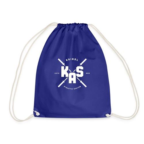 KAS Plain white Logo - Turnbeutel