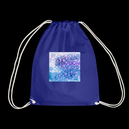 Watercolour blossoms - Drawstring Bag
