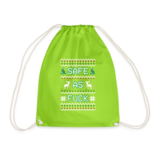 Christmas Jumper Safe AF - Drawstring Bag