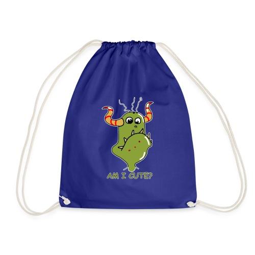 Cute monster - Drawstring Bag