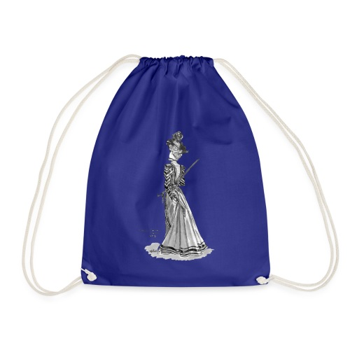 Victorian Fashion - Drawstring Bag