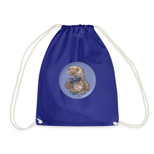 SlothGamer Channel Logo - Drawstring Bag