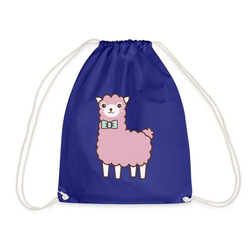 fluffy Lama - Turnbeutel