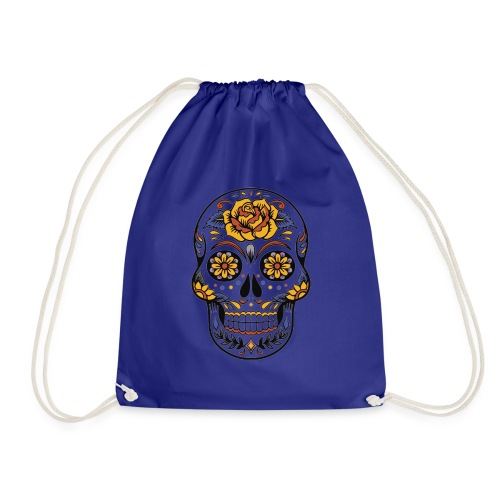 Mexican Skull - Drawstring Bag