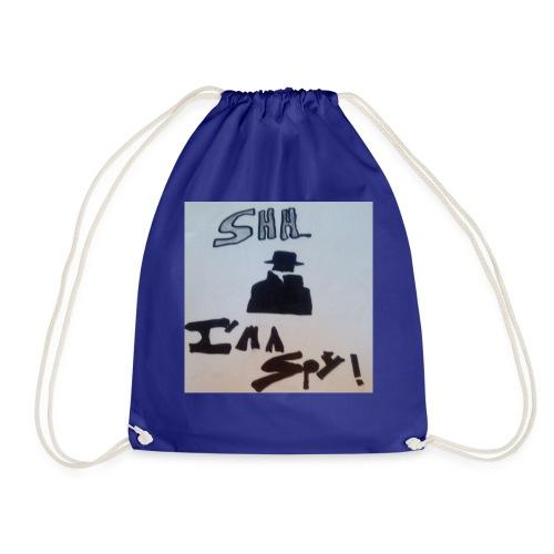 Shhhhhhh... Im a spy - Drawstring Bag