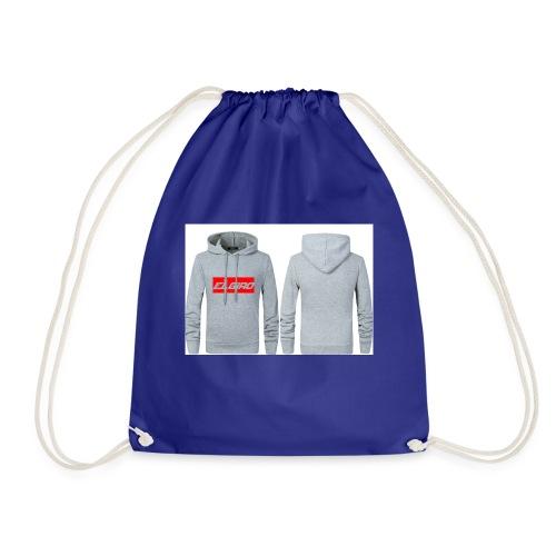 elgiro gray hoodie - Drawstring Bag