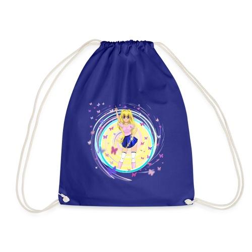 Mindy Butterfly - Drawstring Bag
