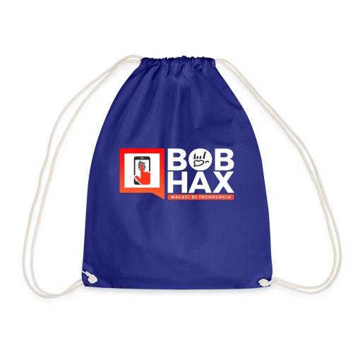 LOGO BobHax white - Sacca sportiva