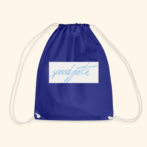 Speedyjaitn Signature Logo - Drawstring Bag