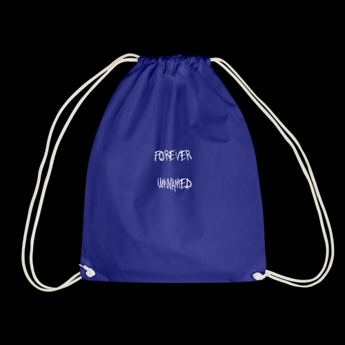 Forever Unwanted White Colourway - Drawstring Bag