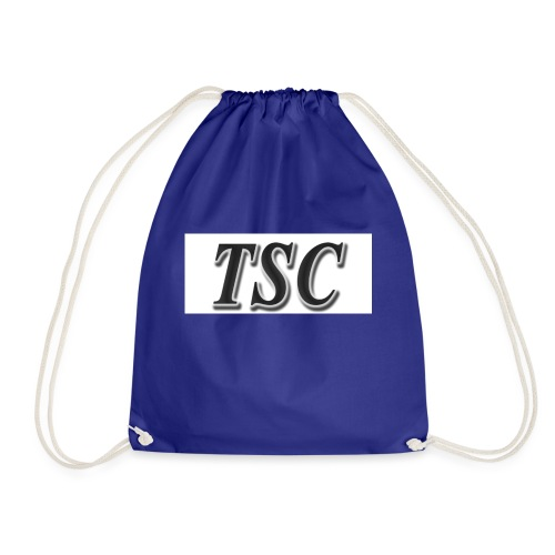 TSC Black Text - Drawstring Bag
