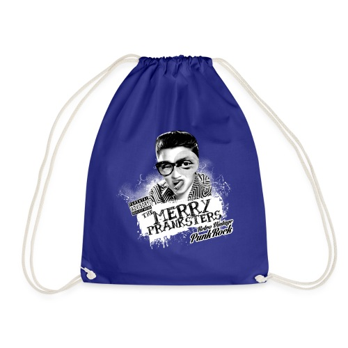 THE_MERRY_PRANKSTERS_STANDARD_scuro - Drawstring Bag