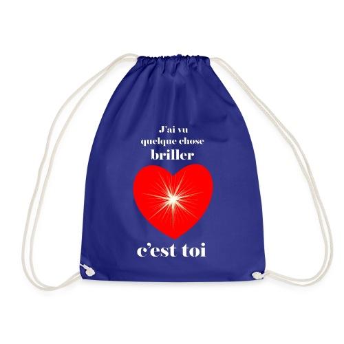 Coeur brillant ...amoureux ou inspiré FS - Sac de sport léger