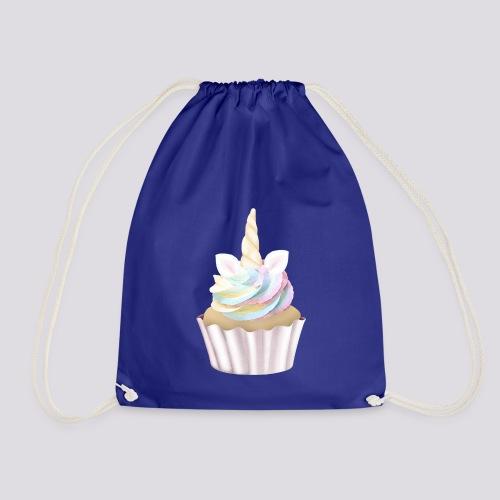 Unicorn Cupcake - Drawstring Bag