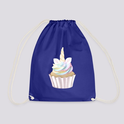 Unicorn Cupcake - Drawstring Bag