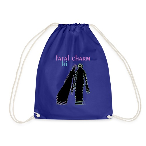 fatal charm - hi album cover art - Drawstring Bag