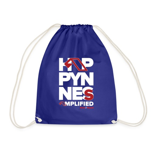 happynessamplified - Drawstring Bag