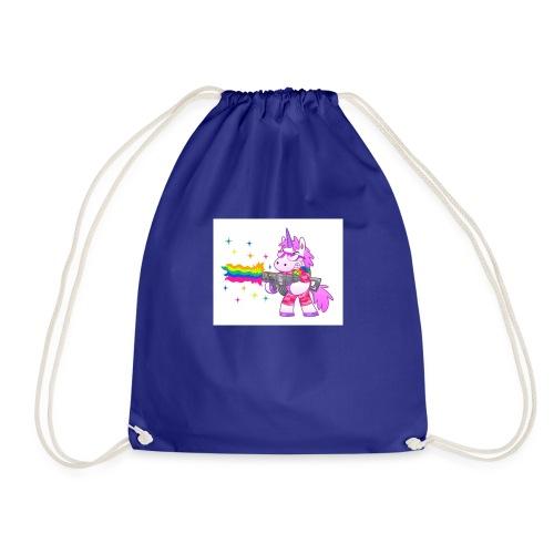 #Swag unicorns merch - Drawstring Bag