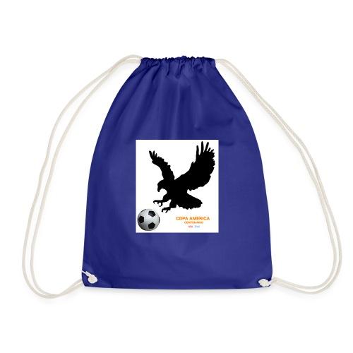 Aguila norteamericana con balón de fútbol - Mochila saco