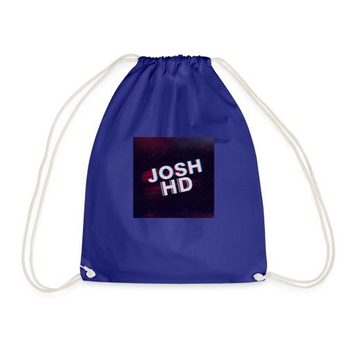 Teddy Bear With Logo - Drawstring Bag