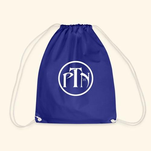 PTN-Music Logo Weiss - Turnbeutel