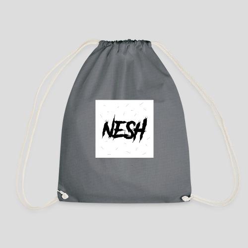 Nesh Logo - Turnbeutel