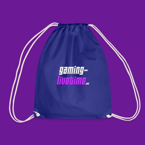Gaming-livetime.net logo - Turnbeutel