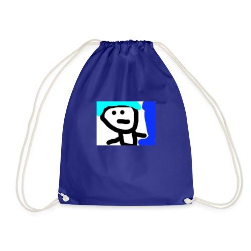 BOY WITH BLUE HAIR!! - Drawstring Bag