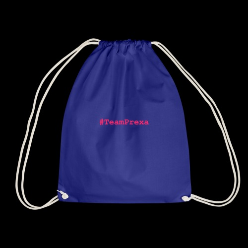 Pink #TeamPrexa LOGO - Turnbeutel