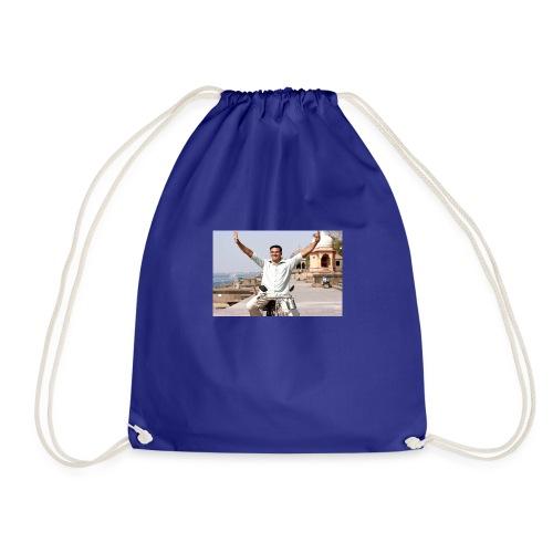in memory of imaan - Drawstring Bag