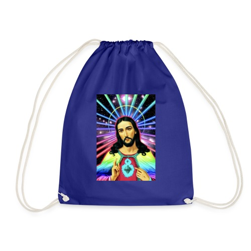 Neon Jesus - Drawstring Bag