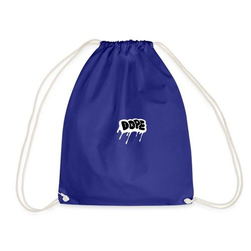 DOPE bubble letters - Drawstring Bag