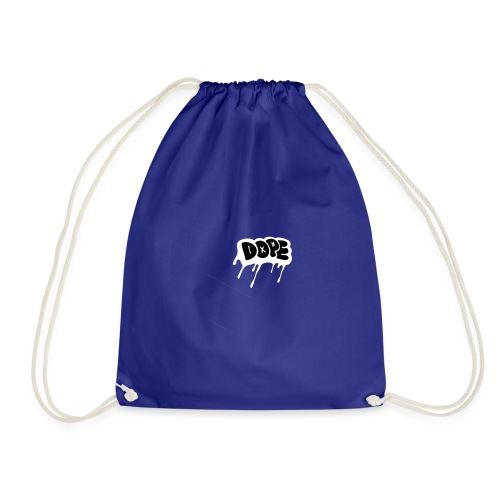 DOPE bubble letters - Drawstring Bag