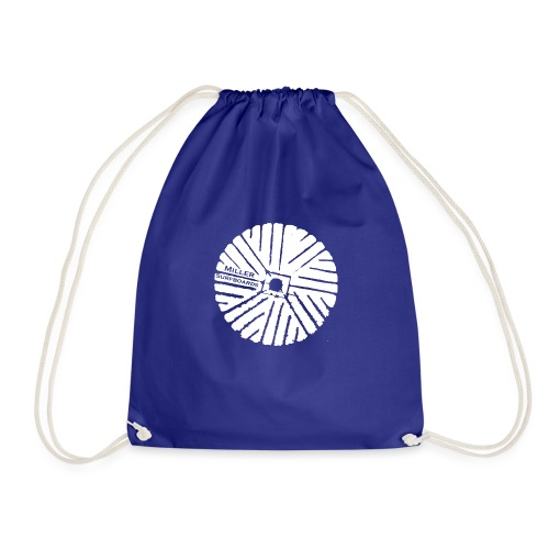 White chest logo sweat - Drawstring Bag