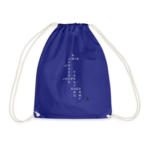 BTS + ARMY CROSSWORD - Drawstring Bag