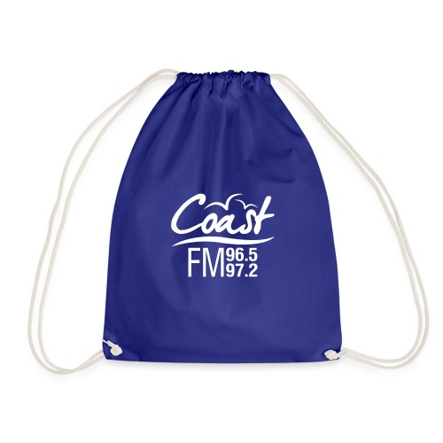 Coast FM single colour print - Drawstring Bag