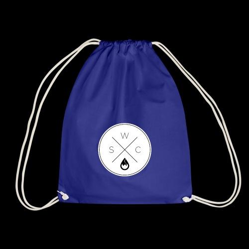 WSC Hipster-Logo rund weiß - Turnbeutel